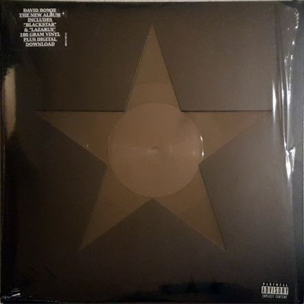 Bowie, David - Blackstar/ Vinyl,12''[LP/180 Gram/Gatefold]