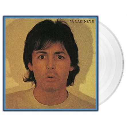 "McCartney, Paul - McCartney II/ Vinyl, 12"" [ LP/ 180 Gram/ Gatefold/ Clear Vinyl] [ Audiophile Limited Clear Vinyl Edition] ( Remastered, Reissue 2017)"