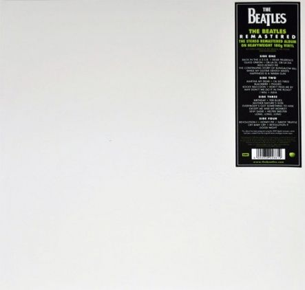 Beatles, The - The Beatles (White Album)/ Vinyl, 12'' [ 2LP/ 180 Gram/ Gatefold] [ Limited Edition] ( Remastered From The Original Stereo Analogue Master Tapes 2009, Reissue 2012)