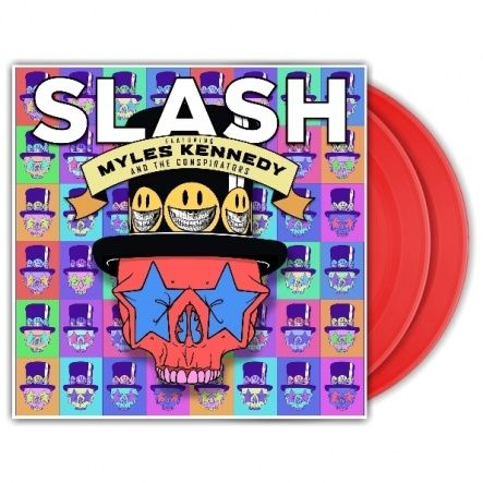 "Slash - Slash Featuring Myles Kennedy And The Conspirators - Living The Dream/ Vinyl, 12"" [ 2LP/ 180 Gram/ Red Coloured Vinyl] [ Limited Edition] ( Original, 1st Press, 1st Edition 2018)"