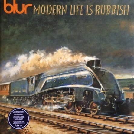 "Blur - Modern Life Is Rubbish / Vinyl, 12""(2LP/ Rem/180 Gram/Gatefold/Reissue 2012)"
