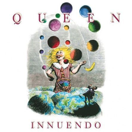"Queen - Innuendo/ Vinyl, 12"" [ 2LP/ 180 Gram/ Gatefold/ Audiophile Quality Half Speed masters Vinyl/ Printed Inner Replica Sleeves] [ Limited Edition] ( Remastered From The Original Analogue Tapes 2011, Reissue 2015)"