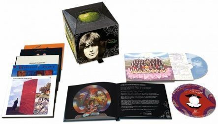 Harrison, George - The Apple Years 1968-75/ CD+ DVD-Video [ 7SHM-CD/ Digipack + DVD-Video/ NTSC, DVD5, Region 0] [ Box Set] [ Limited Edition] ( Compilation, Remastered, Reissue)