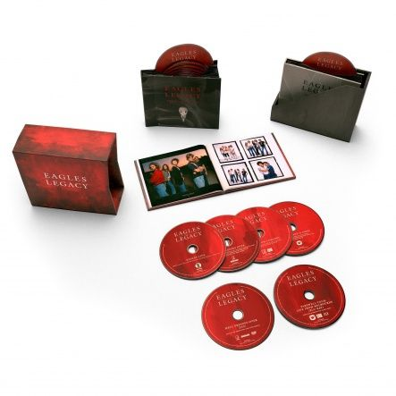 Eagles - Legacy/ 12CD+Blu-Ray+DVD [ Limited Box Set/ + 60-page Book] ( Compilation, Live Recording, Remastered, 1st Edition 2018)