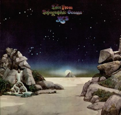 Yes - Tales From Topographic Oceans/ Vinyl, 12''[2LP/Gatefold](Rem,Reissue 2016)
