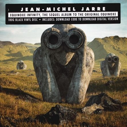 "Jarre, Jean-Michel - Equinoxe Infinity/ Vinyl, 12"" [ LP/ 180 Gram/ Gatefold/ Diffrents Covers: First or Second] ( Original, 1st Press, 1st Edition 2018)"