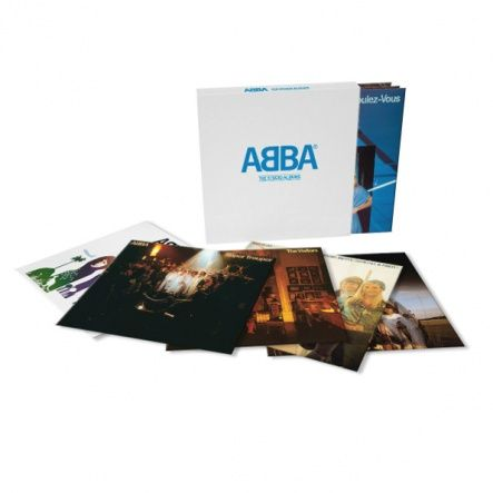 "ABBA - The Studio Albums/ Vinyl, 12"" [ 8LP/ 180 Gram/ Gatefold] [ Limited Edition] [ Box Set] [ Back To Black] ( Compilation, Remastered, Reissue 2014)"