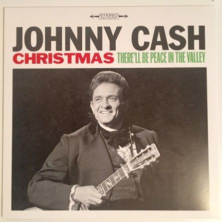 "Cash, Johnny - Christmas: There'll Be Peace In The Valley / Vinyl, 12""(LP/180 gram/Compilation)"