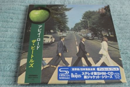 Beatles, The - Abbey Road/ CD [ SHM-CD/ Cardboard Sleeve ( mini LP)/ + Obi] [ Limited Edition] ( Remastered 2009, Repress, Reissue 2015)