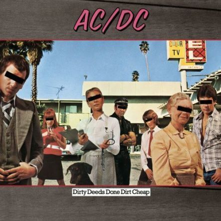 "AC/DC - Dirty Deeds Done Dirt Cheap/ Vinyl, 12"" [ LP/ 180 Gram] ( Remastered From The Original Master Tapes, Reissue 2009)"