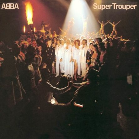 "ABBA - Super Trouper/ Vinyl, 12"" [ LP/ 180 Gram/ Printed Inner Sleeve/ Download Voucher] [ Series: Back To Black] ( Remastered, Reissue 2011)"