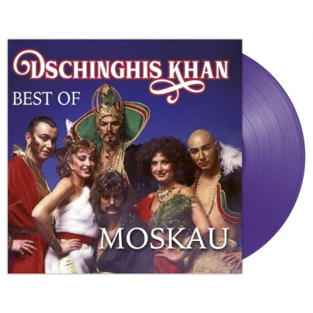 "Dschinghis Khan - Moskau - Best Of/ Vinyl, 12"" [ LP/ Limited Purple Vinyl ] [ Limited Edition] [ Exclusive Only in Russia] ( Compilation 2018)"