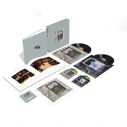 Led Zeppelin ‎– Led Zeppelin IV / Vinyl [2LP+2CD/180 gram/Box Set/Super Deluxe Edition] (Rem, Reissue 2014)