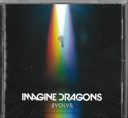 Imagine Dragons - Evolve/ CD [ Jewel Case/ + 4 Bonus Tracks/ + Obi Strip] ( Original, 1st Japan Edition 2017)