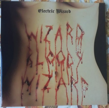 "Electric Wizard - Wizard Bloody Wizard/ Vinyl, 12"" [ LP/ 140 Gram/ Gatefold/ Coloured White with Red Splatter Vinyl/ + Poster] [ Limited Edition] ( 1st Edition)"