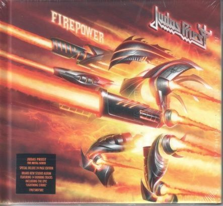 Judas Priest - Firepower/ CD [ Digibook] [ Deluxe Edition]