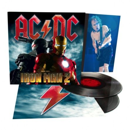 "AC/DC - Iron Man 2/ Vinyl, 12"" [ 2LP/ 180 Gram/ Gatefold] ( Compilation, Original, 1st Edition 2010)"