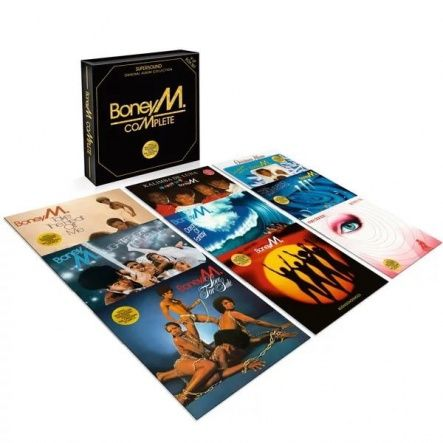 Boney M. - COMPLETE - ORIGINAL ALBUM COLLECTION/ Vinyl, 12''[ 9LP Box Set/ 140 Gram/ Original Replica Sleeves] [ Limited Edition] ( Remastered From The Original Analogue Tapes, Reissue 2017)