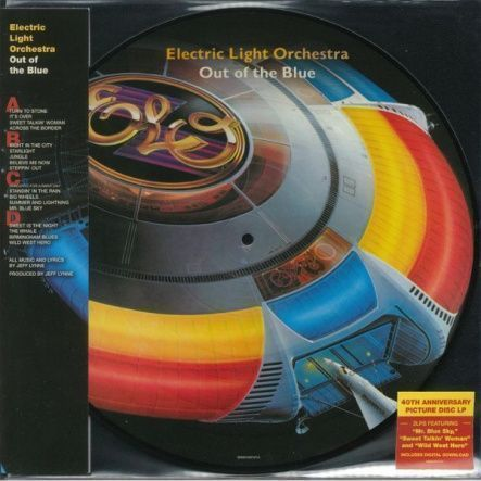 "Electric Light Orchestra - Out Of The Blue/ Vinyl, 12"" [ 2LP/ Picture Disc] [ 40th Anniversary Limited Edition] ( Remastered From The Original Analogue Tapes, Reissue 2017)"