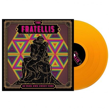 "Fratelis, The - In Your Own Sweet Time/ Vinyl, 12"" [ LP/ Heavyweight Coloured Orange Vinyl] [ Limited Edition] ( Original, 1st Press, 1st Edition 2018)"