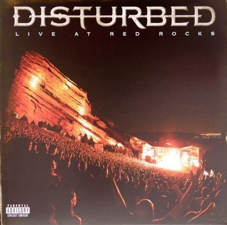 "Disturbed ‎– Live At Red Rocks / Vinyl, 12""(2LP/140 gram/Gatefold)"