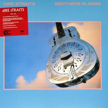 "Dire Straits - Brothers In Arms/ Vinyl, 12"" [ 2LP/ 180 Gram Audiophile Quality Vinyl] [ Series: Back To Black] [ Remastered from the original analogue and digital masters, Reissue 2014)"