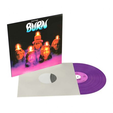 Deep Purple - Burn/ Vinyl, 12'' [ LP/ 180 Gram/ Printed Replica Inner Sleeve] [ Limited Purple Vinyl Edition] ( Remastered From The Original Tapes, Reissue 2018)