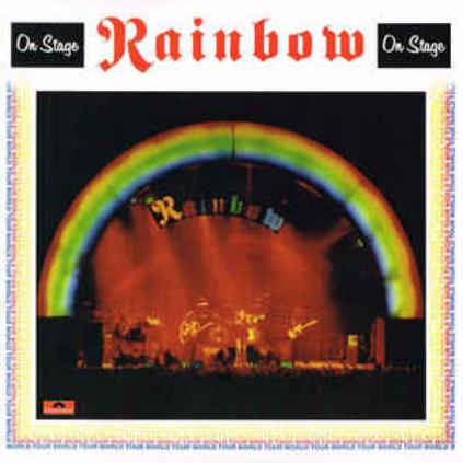 "Rainbow - On Stage/ Vinyl, 12"" [ 2LP/ 180 Gram/ Gatefold/ Printed Inner Sleeves with band photos] [ Limited Edition] [ Series: Back To Black] ( Live Recording, Reissue 2015)"