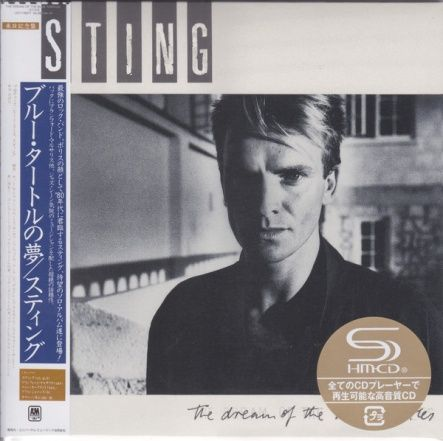 Sting - The Dream Of The Blue Turtles/ CD [ SHM-CD] [ Cardboard Sleeve ( mini LP)] [ Limited Edition] ( Remastered, Reissue 2017)