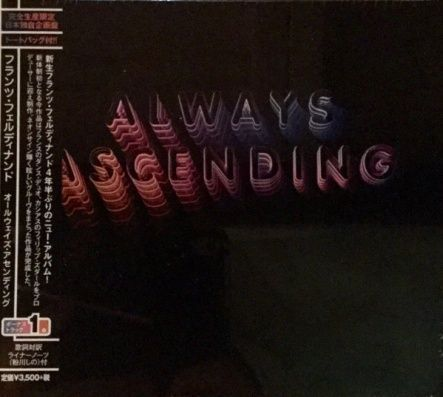 Franz Ferdinand - Always Ascending/ CD [ Jewel Case] ( + 1 Bonus Track)