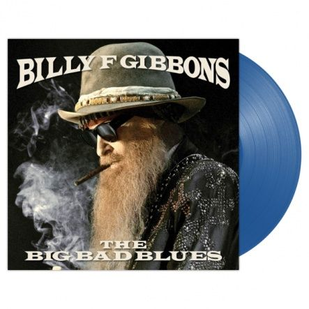 "Gibbons, Billy - The Big Band Blues/ Vinyl, 12"" [ LP/ Blue Translucent Vinyl/ Includes printed inner sleeve] [ Limited Edition] ( Original, 1st Press, 1st Edition 2018)"