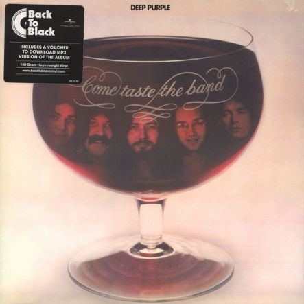 Deep Purple - Come Taste The Band/ Vinyl, 12'' [ LP/ 180 Gram/ Gatefold/ Replica Cover] [ Series: Back To Black] ( Remastered, Reissue 2016)