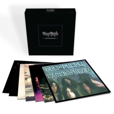 "Deep Purple - The Vinyl Collection/ Vinyl, 12"" [ 7LP/ 180 Gram/ Gatefold/ Original Inserts Within Replica Sleeves] [ Limited Edition Vinyl Box Set] [ Series: Back To Black] ( Compilation, Remastered From The Original Tapes, Reissue 2016)"