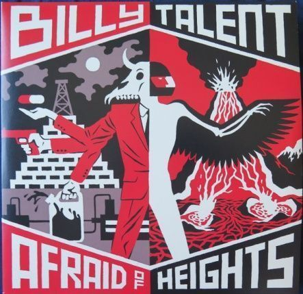 "Billy Talent - Afraid Of Hieghts / Vinyl, 12""(2LP/Rem/180 gram/Gatefold/Reissue)"