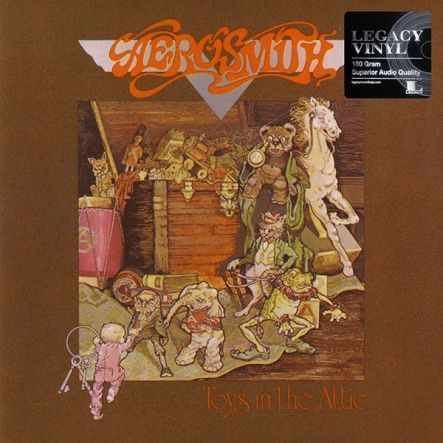 "Aerosmith - Toys In The Attic / Vinyl, 12""(LP/Rem/180 gram/ Reissue 2016)"