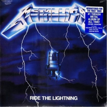 Metallica Ride the Lightning (Vinyl, Reissue 2016)