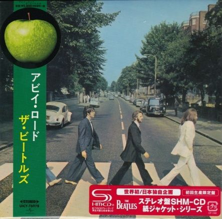 Beatles, The - Abbey Road/ CD [ SHM-CD/ Cardboard Sleeve ( mini LP)/ + Obi] [ Limited Edition] ( 1st Japan Press Red Sticker) ( Remastered, Reissue 2014)