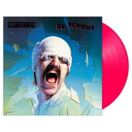 "Scorpions - Blackout/ Vinyl, 12"" [ LP/ 140 Gram/ Neon Pink Vinyl] [ Limited Edition] [ Exclusive For Russia] ( Remastered, Reissue 2018)"