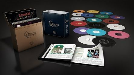 Queen - Complete Studio Album/ Vinyl, 12'' [ 18LP/ 180 Gram/ Multi-Coloured Vinyl/ + 108 pages Book] [ Limited Box Vinyl Set] ( Half Speed Mastered From The Original Master Tapes, Compilation 2015)