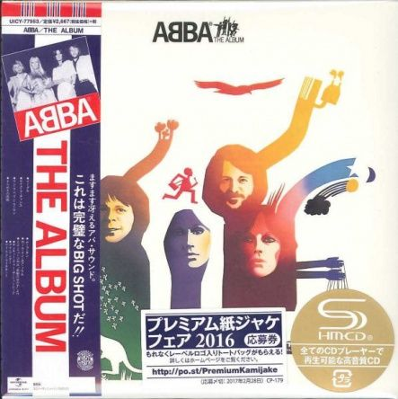 ABBA - The Album/ CD [ SHM-CD/ Cardboard Sleeve ( mini LP)/ + Bonus Track/ + Obi Strip] [ Limited Edition] ( Remastered, Reissue 2016)