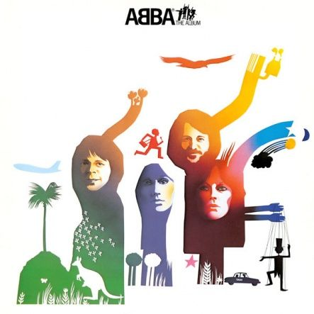 "ABBA - The Album/ Vinyl, 12"" [ LP/ 180 Gram] [ Back To Black] ( Remastered, Reissue 2011)"
